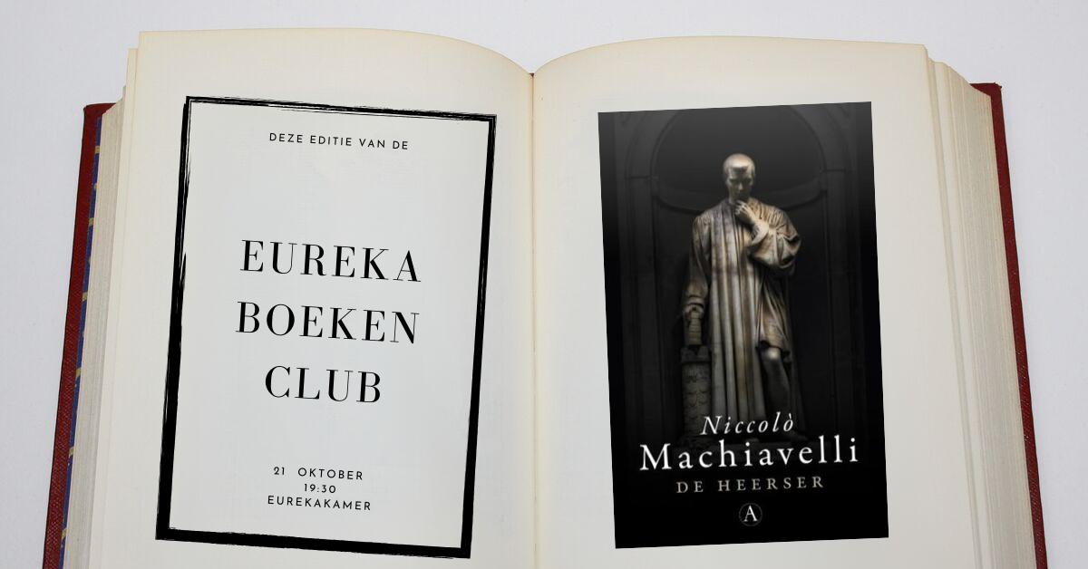 28 10 2019 Boekenclub De Heerser Machiavelli Sv Eureka